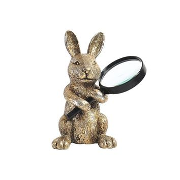 Elements Bunny Magnifying Glass Holder