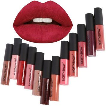 PEAPYV3 Makeup Matte Lipstick Long-Lasting Liquid Lip Makeup Tint Tattoo Lipstick Easy To Wear Nude Red Lip Gloss Cosmetic
