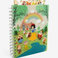 Disney Snow White And The Seven Dwarfs Tabbed Journal