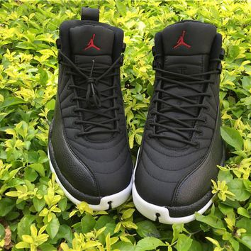 Copy of Air Jordan 12 ovo while/Gold Basketball Shoes 36-40