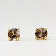 Large Light Colorado Swarovski Crystal Stud Earrings