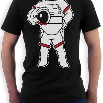 New 2017 Gildan Style T Shirt Astronaut Easy Costume - Funny Space Suit Print T Shirt Gift Idea For Male/Boy T Shirt