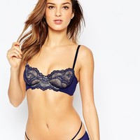 ASOS Fan Lace Balconette Underwire Bra