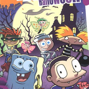 Nicktoons-Halloween (Dvd)