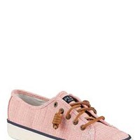 Gliks - Sperry Top-Siders Seacoast Cross Hatch Sneaker for Women in Coral