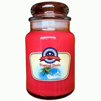 Tropical Oasis - Soy Blend Container Scented Candles