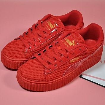PUMA Women Fashion Platform Running Sport Shoes Sneakers Sport Shoes