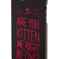 ModCloth Travel Cats No Joke! iPhone 5, 5S Case