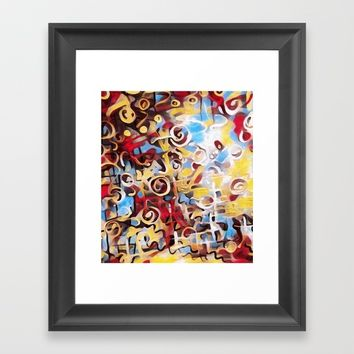 musik 1 Framed Art Print by Kathead Tarot/David Rivera