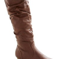 ModCloth Toffee Date Boot