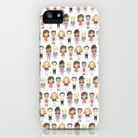 Saved by the Bell Pattern iPhone & iPod Case by Ricky Kwong   Society6