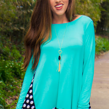 On The Dot Tunic - Final Sale