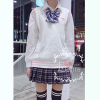 J-fashion Kawaii Milk Embroidery Uniform Vest LK17112105 from lolita store