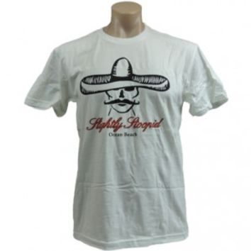 Slightly Stoopid Roberto's White T-shirt - Shirts - Apparel - Rockabilia
