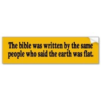 The Bible Bumper Sticker from Zazzle.com