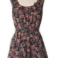 Trendy & Cute Clothing - Ya Los Angeles - Dancing With Roses Dress - chloelovescharlie.com | $41.00