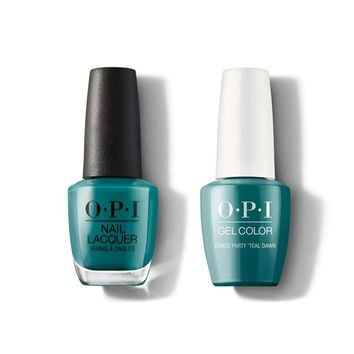OPI - Gel & Lacquer Combo - Dance Party 'Teal Dawn