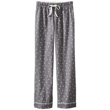 Gilligan & O'Malley® Women's Flannel Print Sleep Pant - Polar Bear XXL