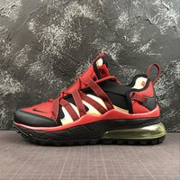 Nike Air Max 270 Bowfin Red Black Sport Running Shoes - Best Online Sale
