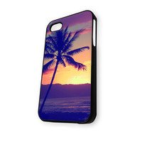 Trees on Beach iPhone 4/4S Case