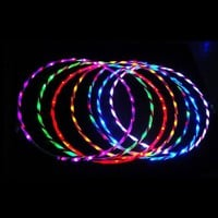90cm LED Glow Hula Hoop Performance Hoop Sports Toys Loose Weight Child