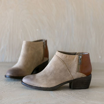 BC Footwear: Vanna Two Tone Bootie