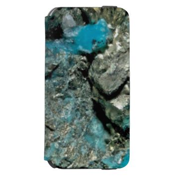 Natural Turquoise Stone Incipio Watson™ iPhone 6 Wallet Case