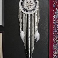 White Frost Mandala Dream Catcher