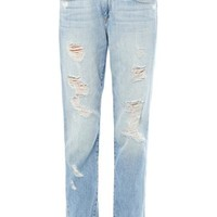 Tyler distressed boyfriend jeans