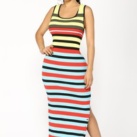 Remi Maxi Dress - Yellow
