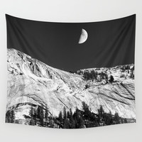 Yosemite Wall Tapestry by Claude Gariepy