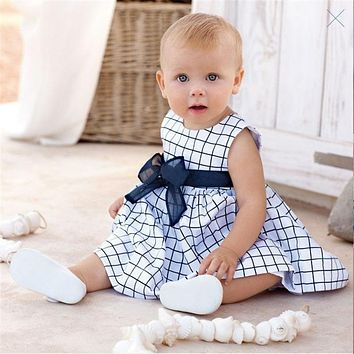 Eco-friendly Infant baby girl clothing summer infantil toddler clothes newborn dresses for girls vestido  newborn dress