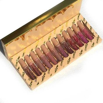 Set 12 Pcs Lip Gloss [11548585740]