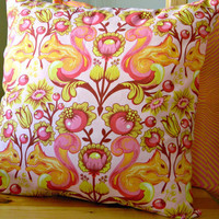 Pillow Covers - 2 for 20 - Squirrel Sunset