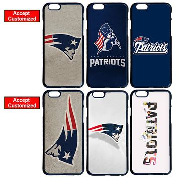 New England Patriots Case for LG iPhone 4 4S 5 5S SE 5C 6 6S 7 Plus iPod 5 Samsung S3 S4 S5 Mini S6 S7 S8 Edge Plus Note 3 4 5