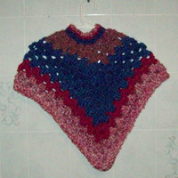 Kids Poncho Size 2-3 Years