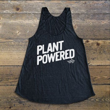 Vegan Shirt - Vegan Tank Top - Vegan Shirts - Plant Powered