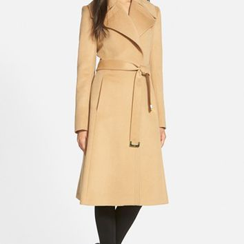 Shop Women's Wool Wrap Coat on Wanelo