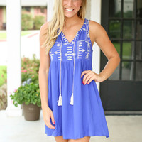 Summer Nights Dress - Blue