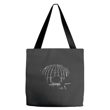 death skull Tote Bags