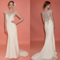 Gorgeous Open Backed Wedding Gowns | Wedding Resource