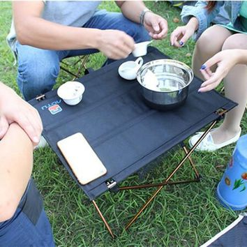 Durable Foldable Table for Camping mad Aluminium Alloy Ultra-light