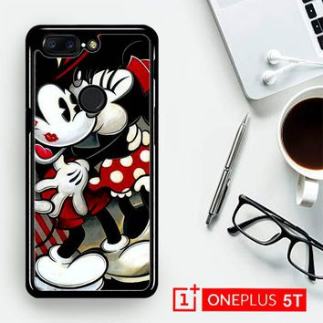 Hugs And Kisses  Mickey Minnie Mouse Z1557  OnePLus 5T / One Plus 5T Case