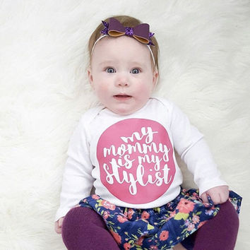 Mommy is my stylist, little girl, fashion lover, mommy and me, baby fashion, mamarazzi, gifts for Mom, baby baby style, mommy style, brand