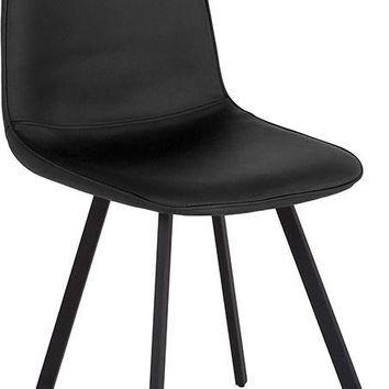 Argos Contemporary Dining Chair in Vinyl