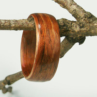Bentwood Mens Ring Walnut size 12.5