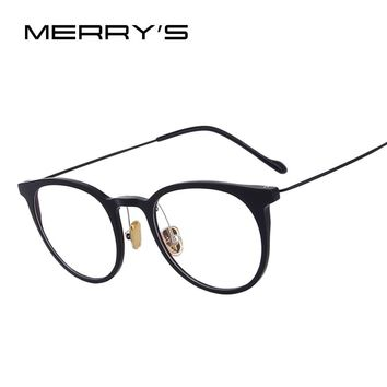 MERRY'S DESIGN Women Retro Cat Eye Ultralight Eyeglasses Radiation-resistant Computer Optical Glasses S'2073