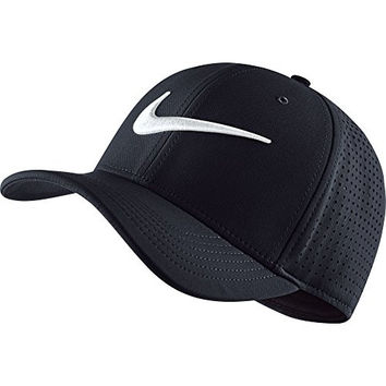 Nike Vapor Classic 99 SF Training Hat Black/White Size Small/Medium