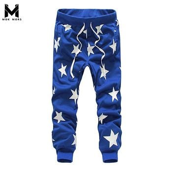 Men Harem Pants brand 2017 Casual Sagging pants Mens Trousers Drop Crotch Pant Men Joggers Feet pants hanging crotch
