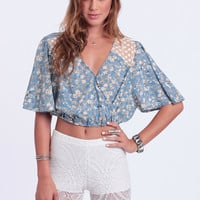 Roaming Wild Crop Top